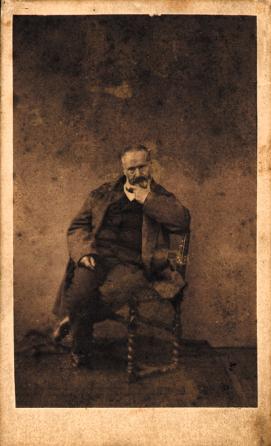 Photo offerte par Victor Hugo à Jean Knaff de Larochette.