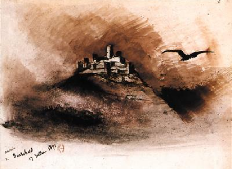 Souvenir de Bourscheid, 17 juillet 1871