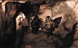 Burg au chat-huant, 1863